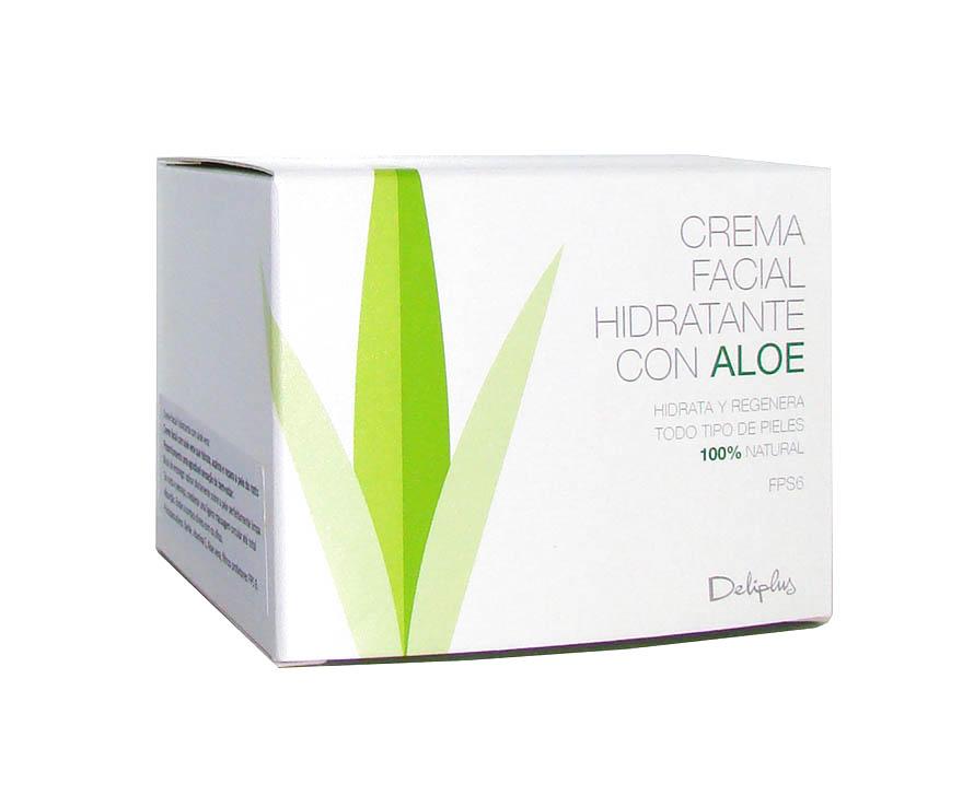 Deliplus Aloe Vera Creme Facial 50ml